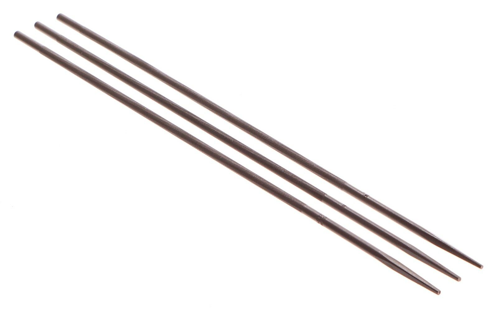 Pilník pilový na řetěz, sada 12ks, 200x4mm, GEKO