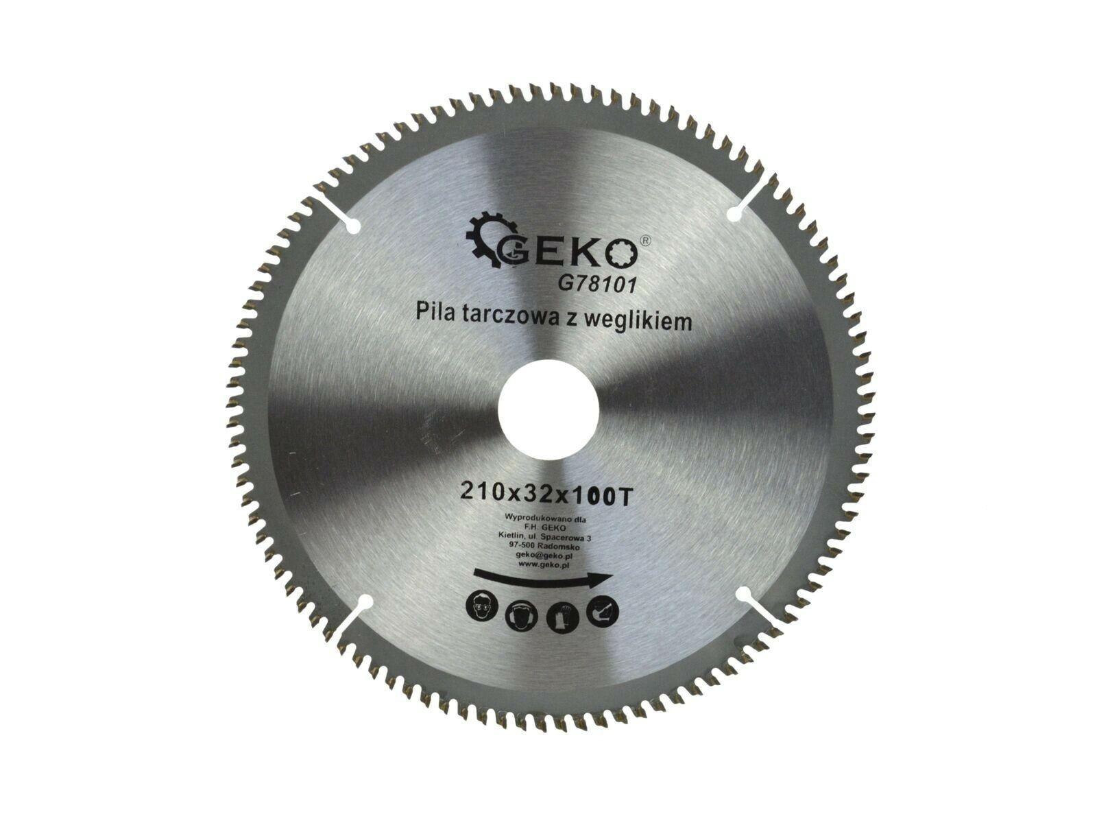 Kotouč řezný na hliník, 210x32 mm 100 GEKO