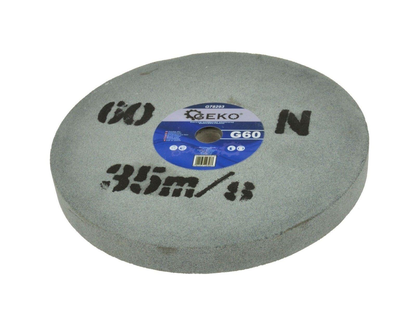 Brusný kotouč pro dvojité brusky 200x20x16mm G60 GEKO