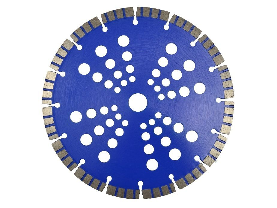 Řezný kotouč diamantový segmentový, 230x22x10mm, GEKO