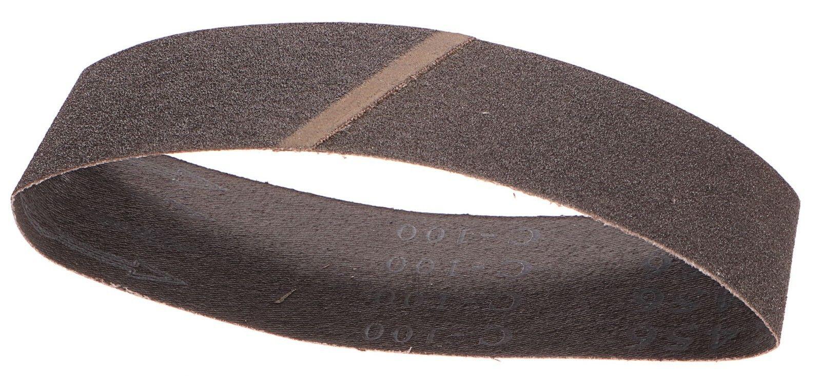 Plátno brusné nekonečný pás, 75x457mm, P100 GEKO