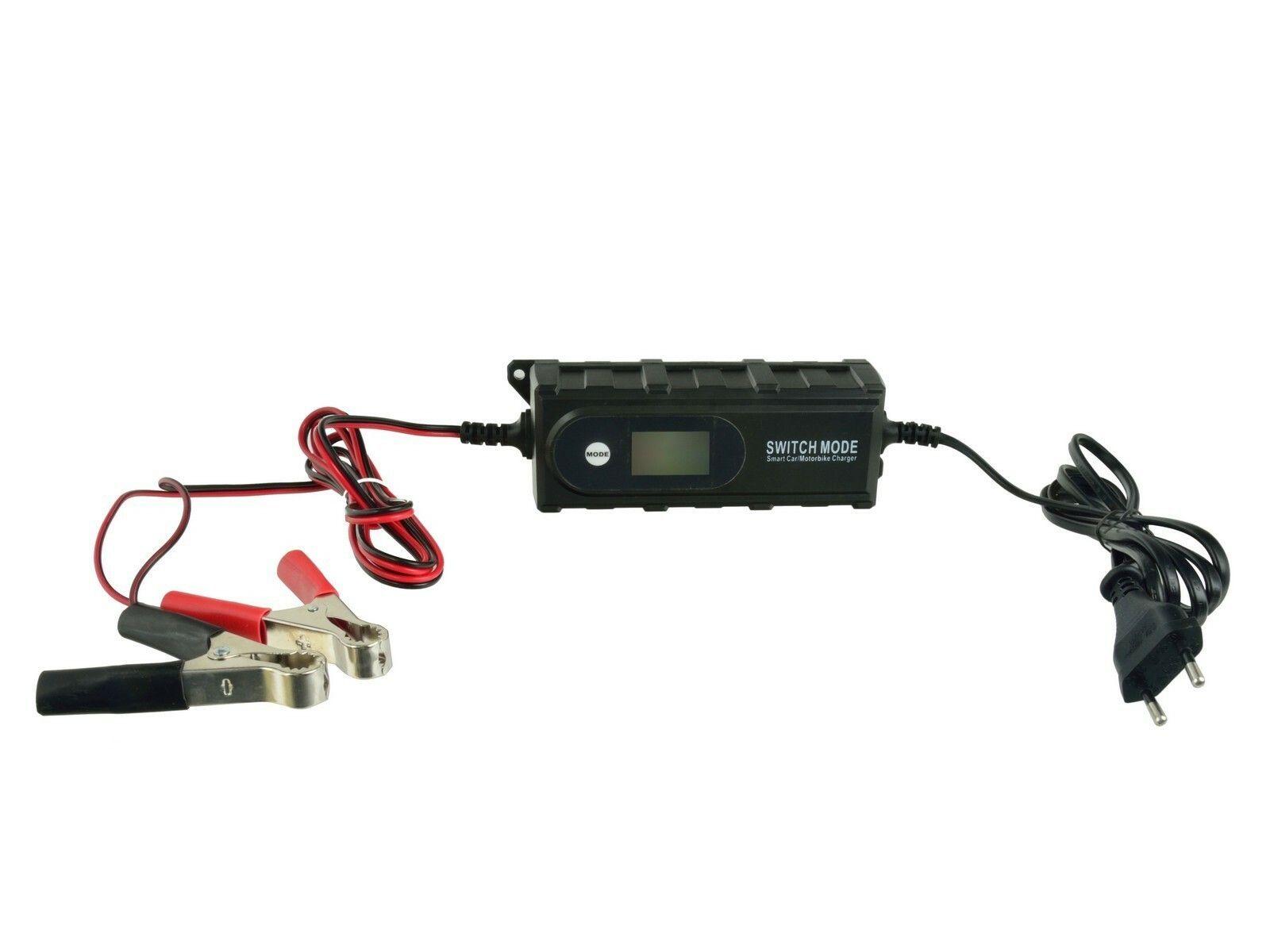 Nabíječka baterií GEL a AGM 6/12V GEKO