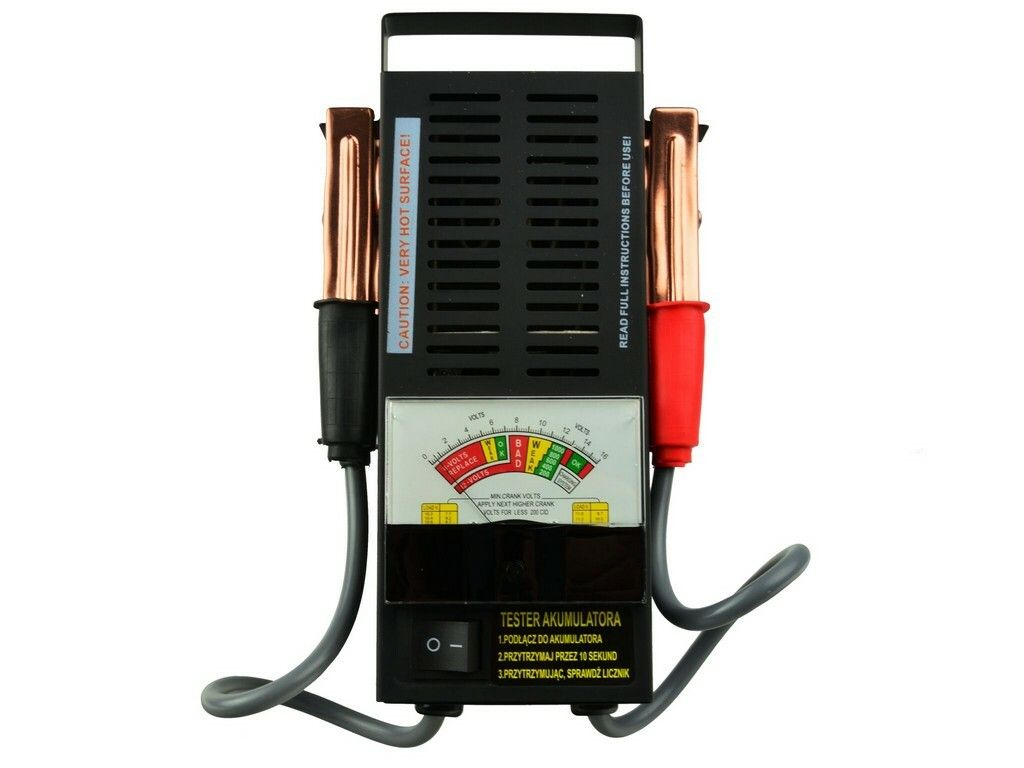Tester autobaterie zátěžový analogový, GEKO G80028