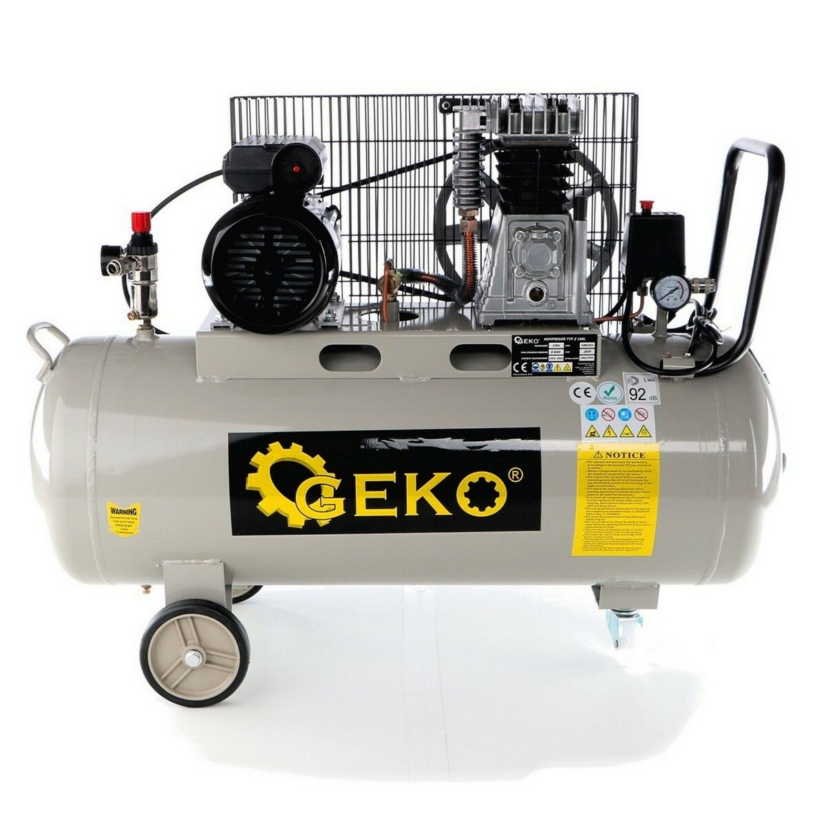 Kompresor olejový, 100l, typ Z GEKO