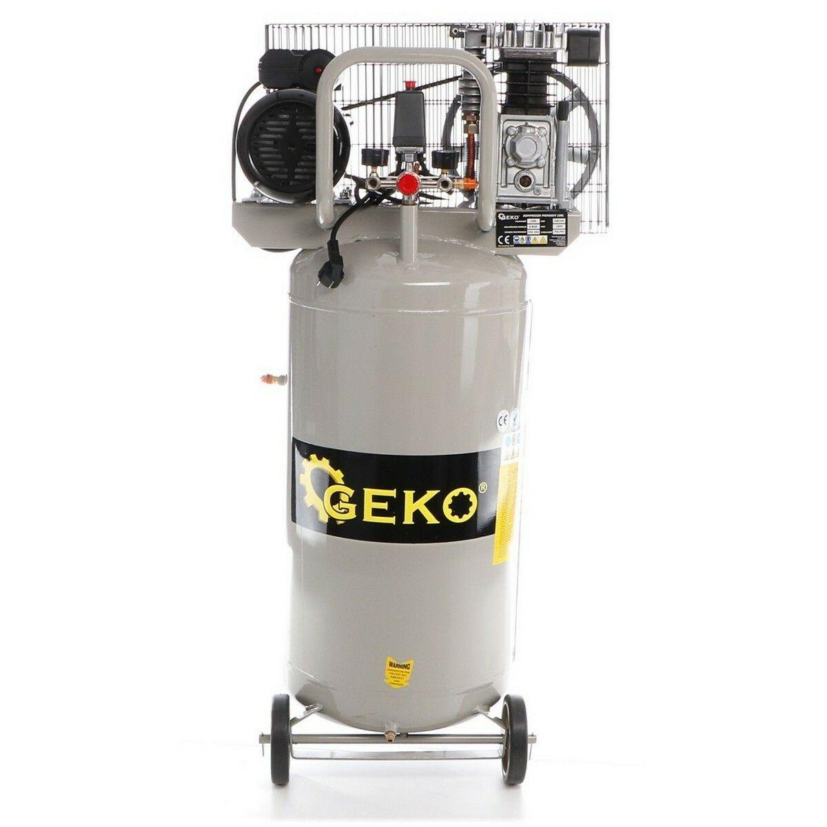 Kompresor olejový vertikální, 100l GEKO