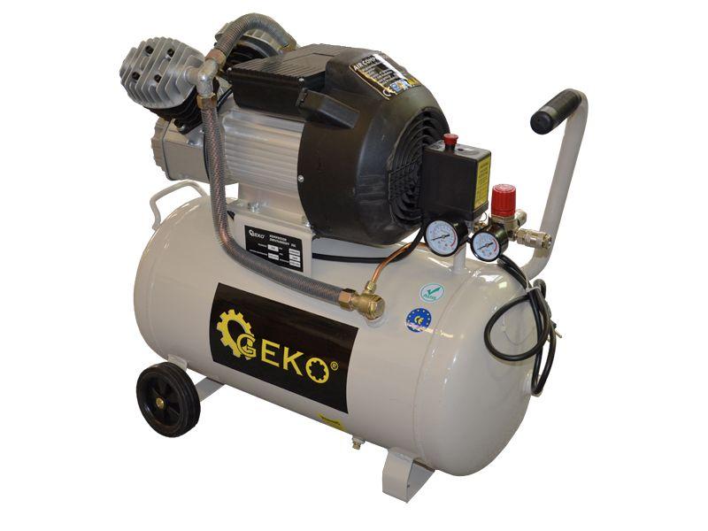 Kompresor olejový dvoupístový, 50l, GEKO