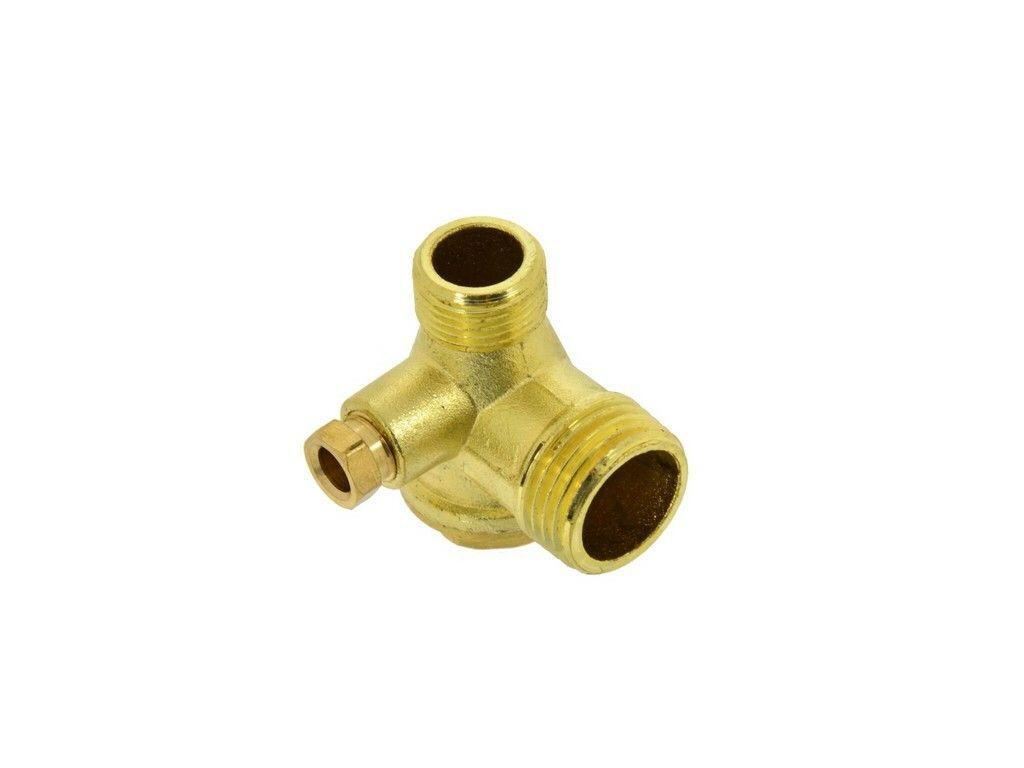 """Zpětný ventil kompresoru 1/2""""xM14x1/4"""", GEKO"""