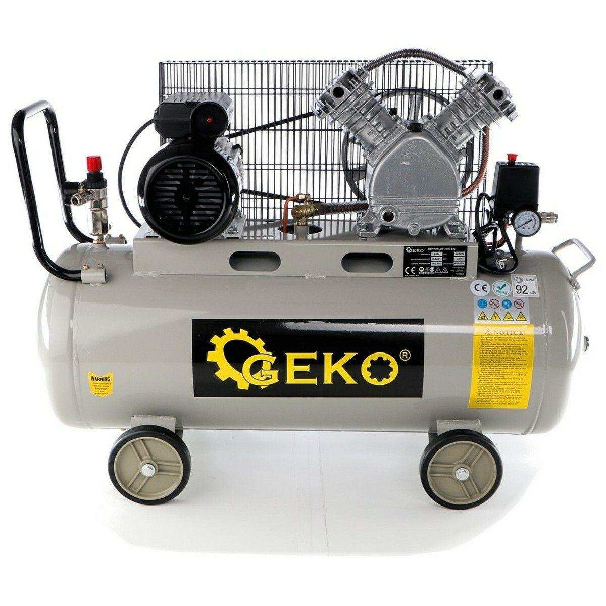 Kompresor olejový, 100l, typ V GEKO