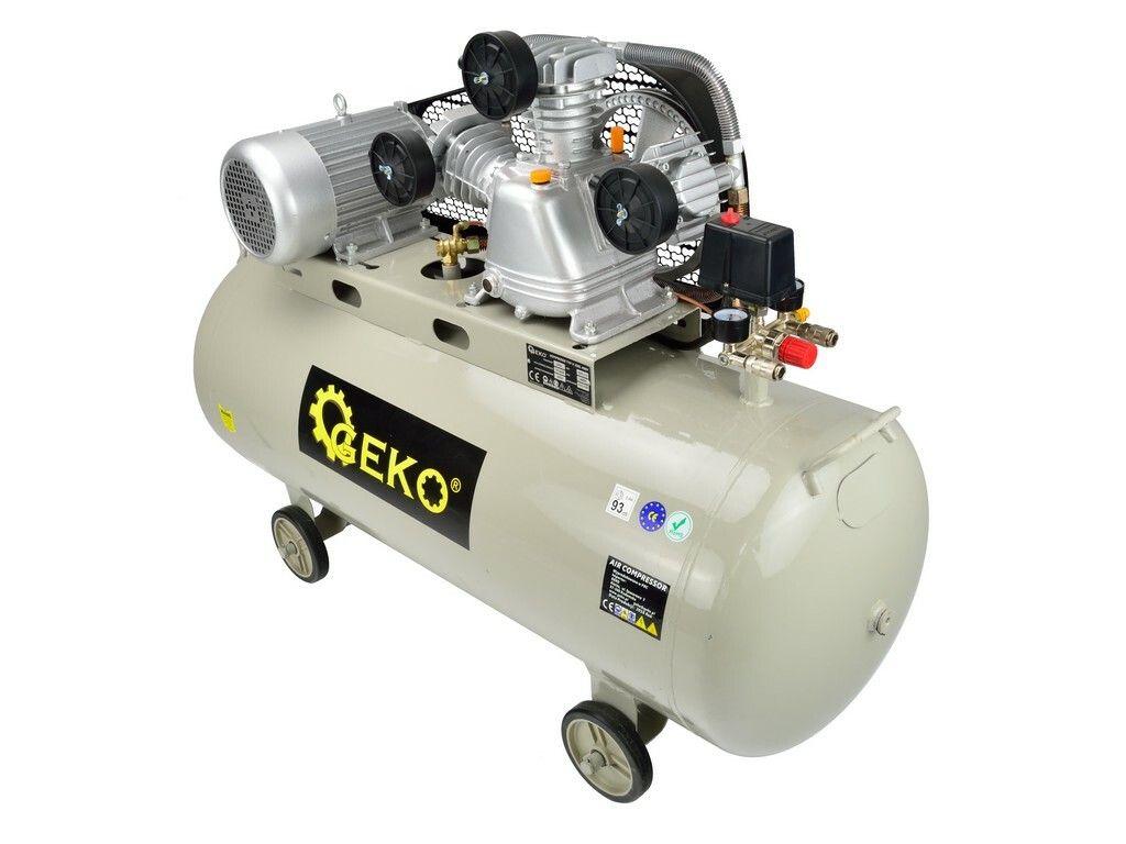 Kompresor olejový třípístový, 200l, GEKO