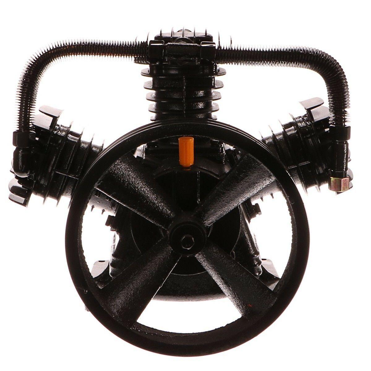 Kompresor do vzduchového kompresoru třípístový, 5,5HP, 100l - náhradní díl GEKO