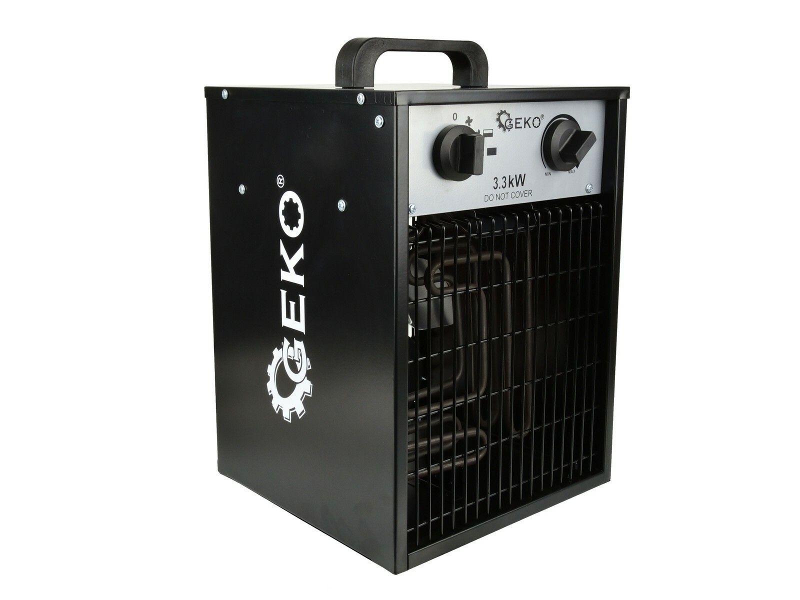 GEKO G80401 Elektrický ohřívač vzduchu s ventilátorem 3,3kW