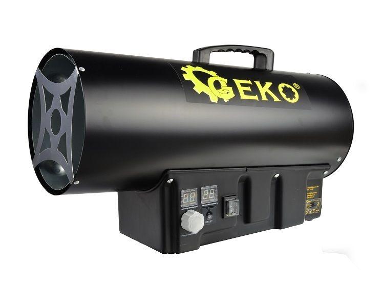 Horkovzdušná plynová turbína s termostatem, 40kW, GEKO