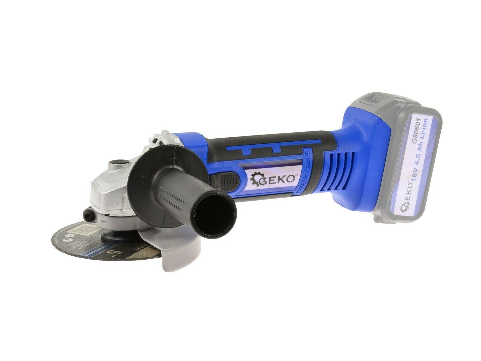 Akumulátorová úhlová bruska 115mm 18V One Power - bez baterie a nabíječky GEKO