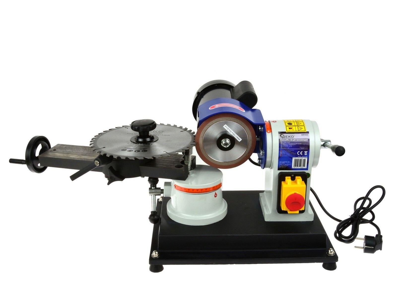 Bruska - ostřička pilových kotoučů 100 -700mm 250W GEKO