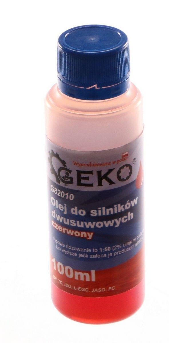 Olej 2T 100ml - pro dvoutaktní motory, GEKO