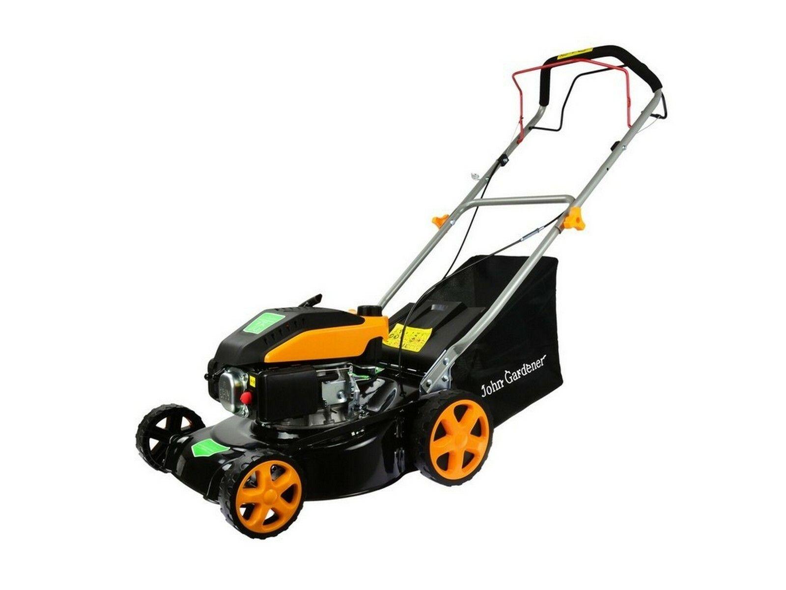 GEKO G83055 benzinová sekačka na trávu G55 s pojezdem 1,8kW, 400mm