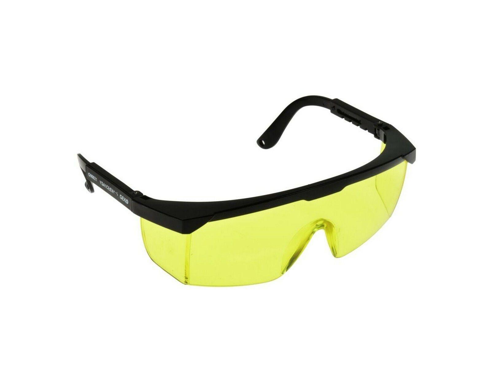 Žluté ochranné brýle GEKO