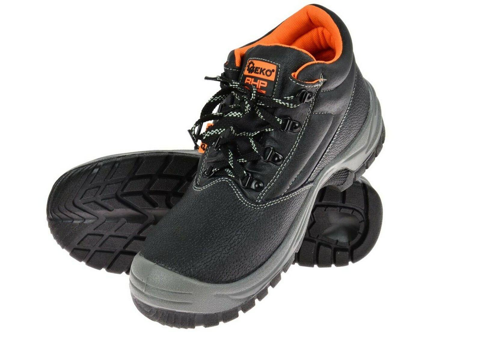 Ochranné pracovní boty kotníkové model č.2 vel.39 GEKO