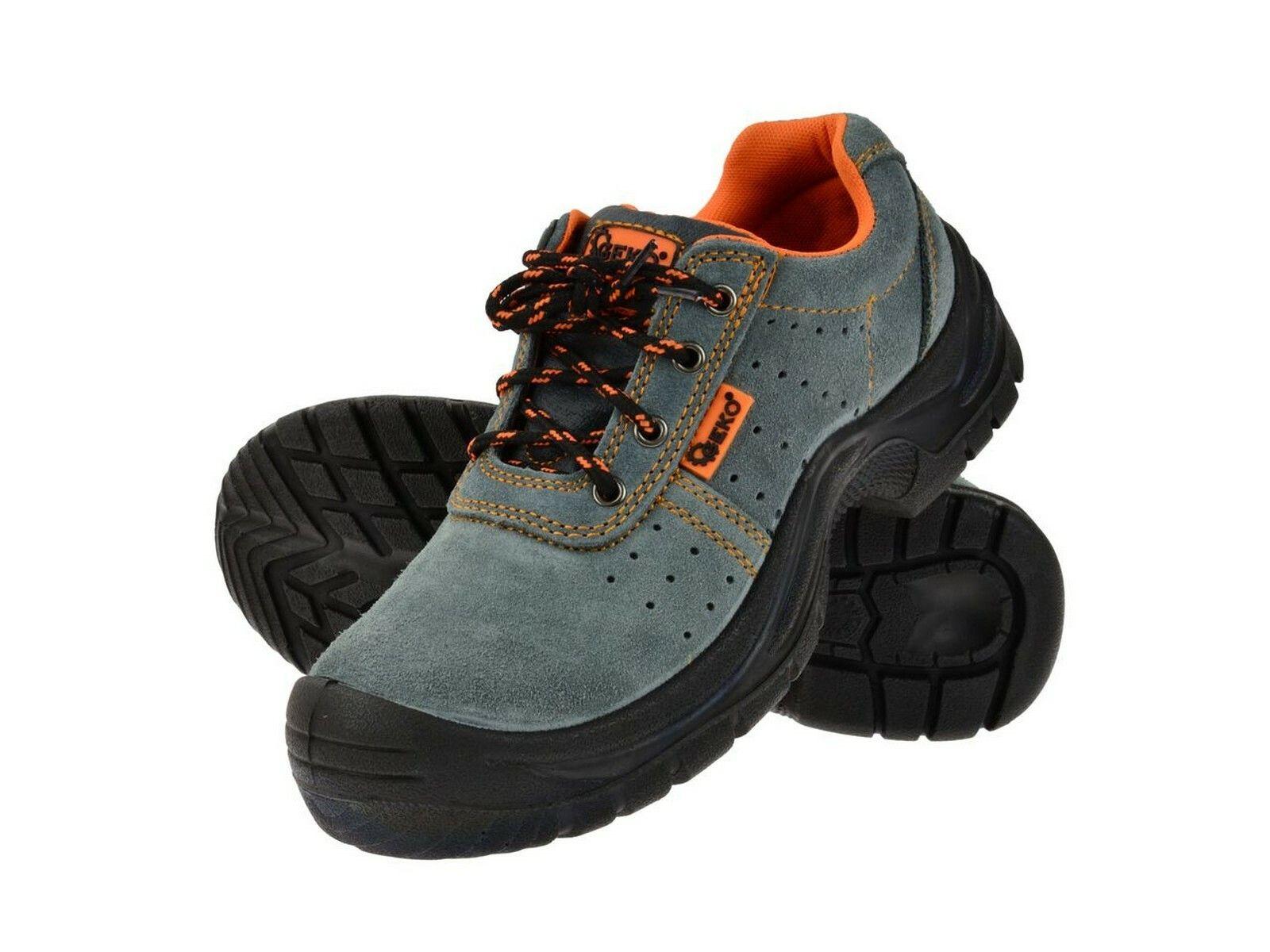 Ochranné pracovní boty semišové model č.3 vel.39 GEKO