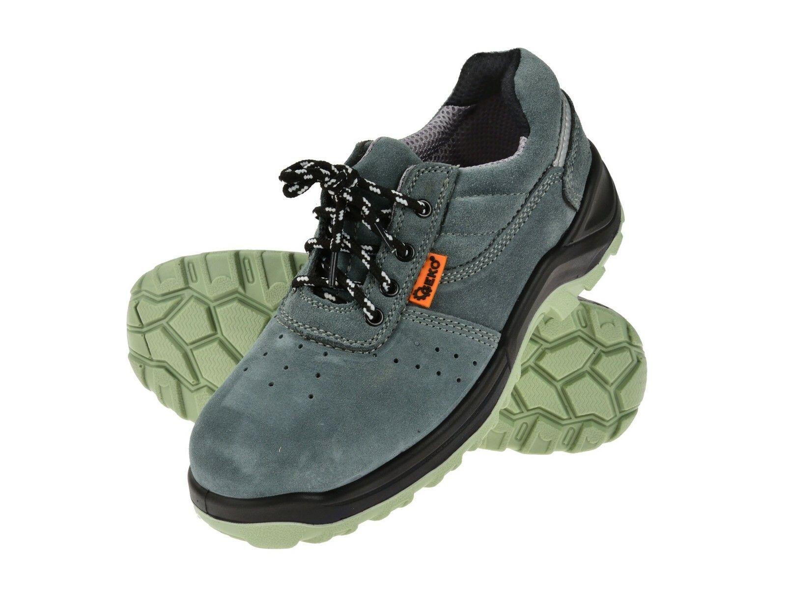 Ochranné pracovní boty semišové model č.4 vel.39 GEKO
