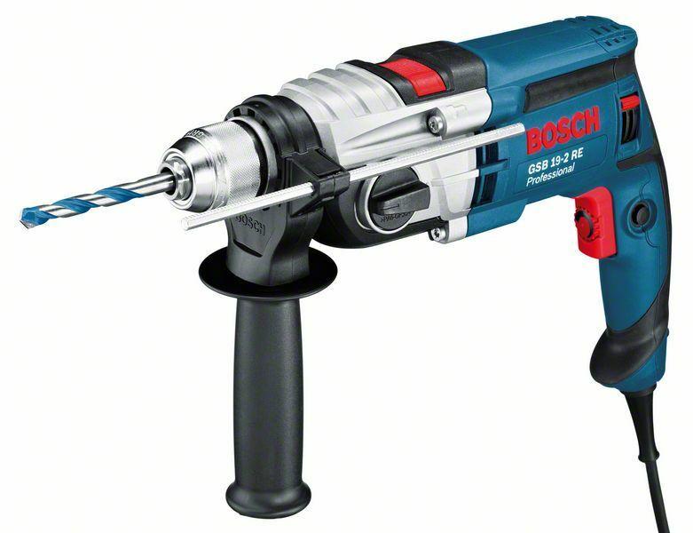 Vrtačka příklepová Bosch GSB 19-2 RE Professional - kufr, 060117B500