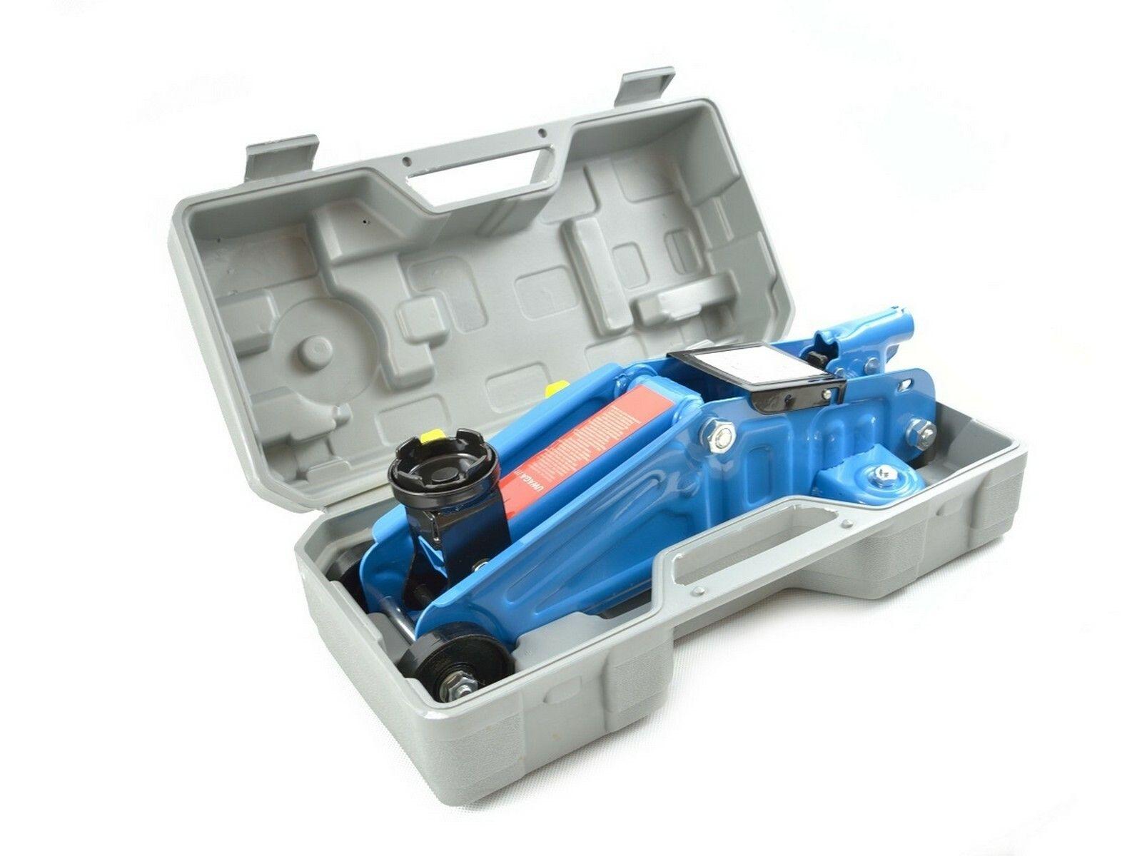 Hever hydraulický pojízdný 2 t, baleno v kufr HEIDMANN
