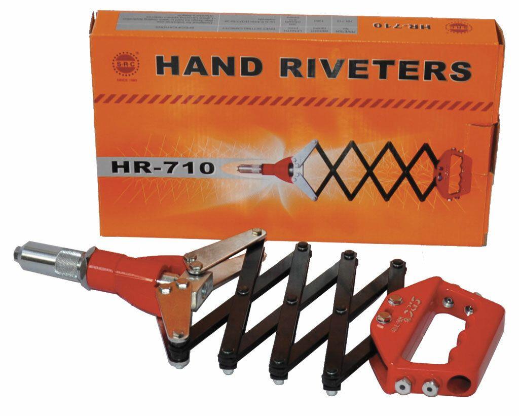 Ruční nůžkové nýtovací kleště HR-710 Genborx
