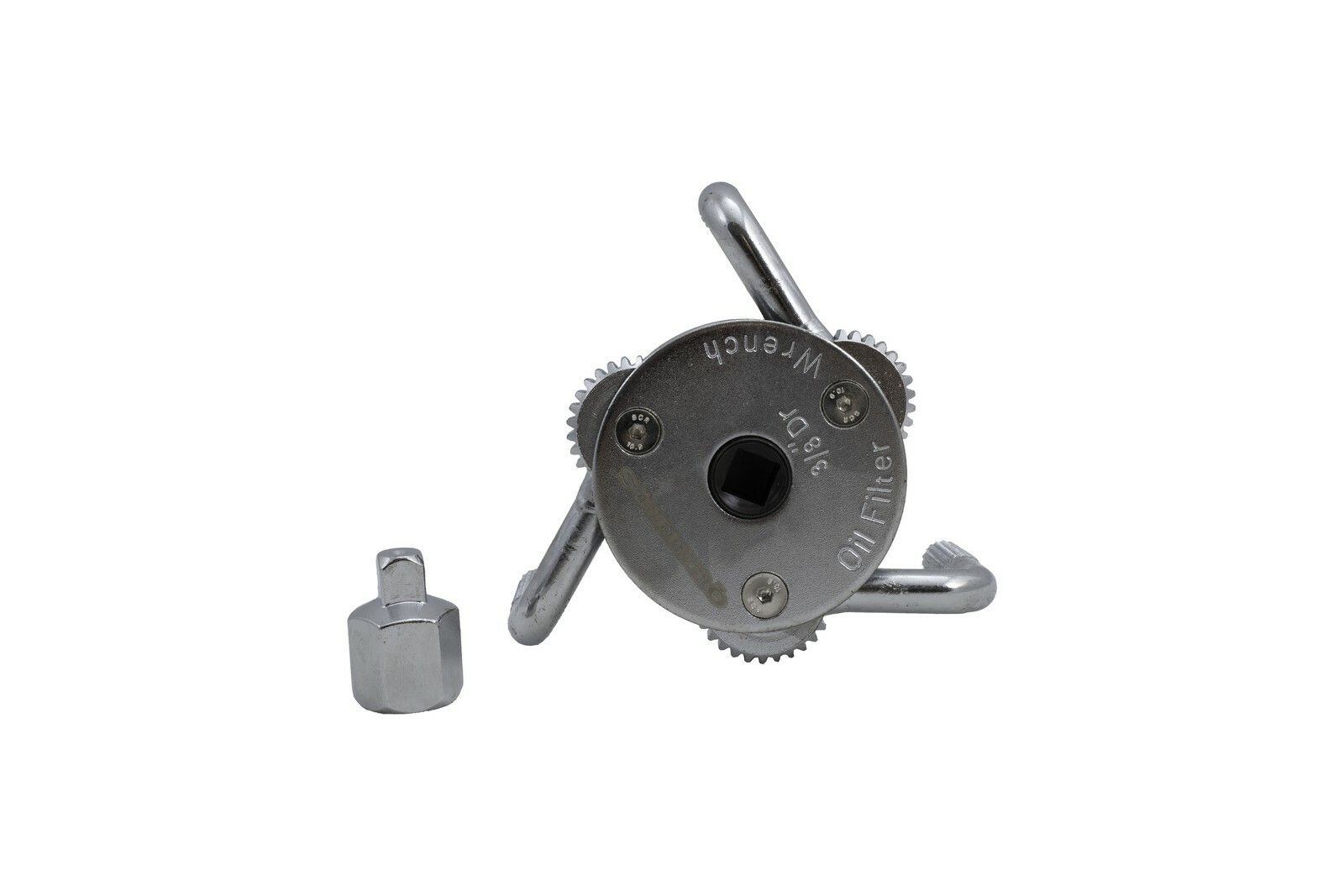 Samostavitelný tříramenný klíč na olejové filtry 80-136 mm QUATROS QS60034
