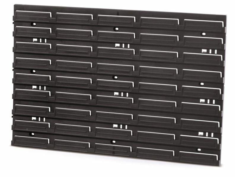 Montážní panel HANGING BAR 576x390x18 černý PROSPERPLAST