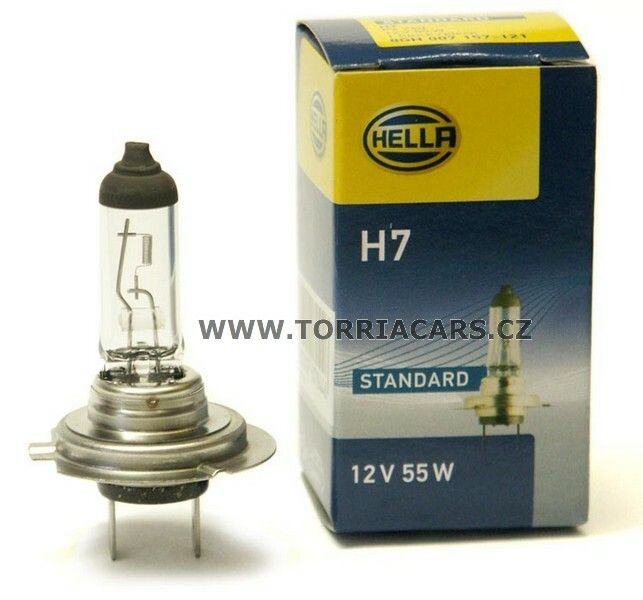 Žárovka HELLA H7 12V 55W PX26d