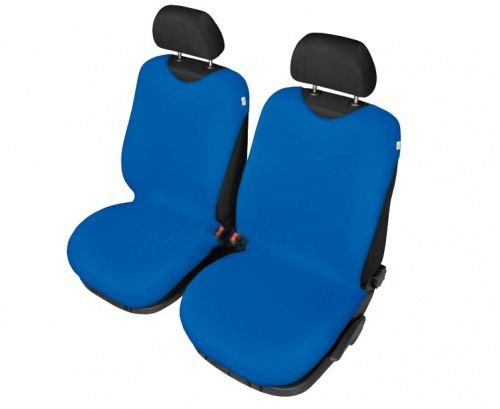 Autopotahy Tričko BAVLA na přední sedadla - světlomodré