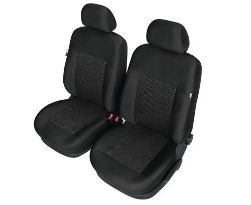 Autopotahy POSEIDON na přední sedadla, černé SIXTOL