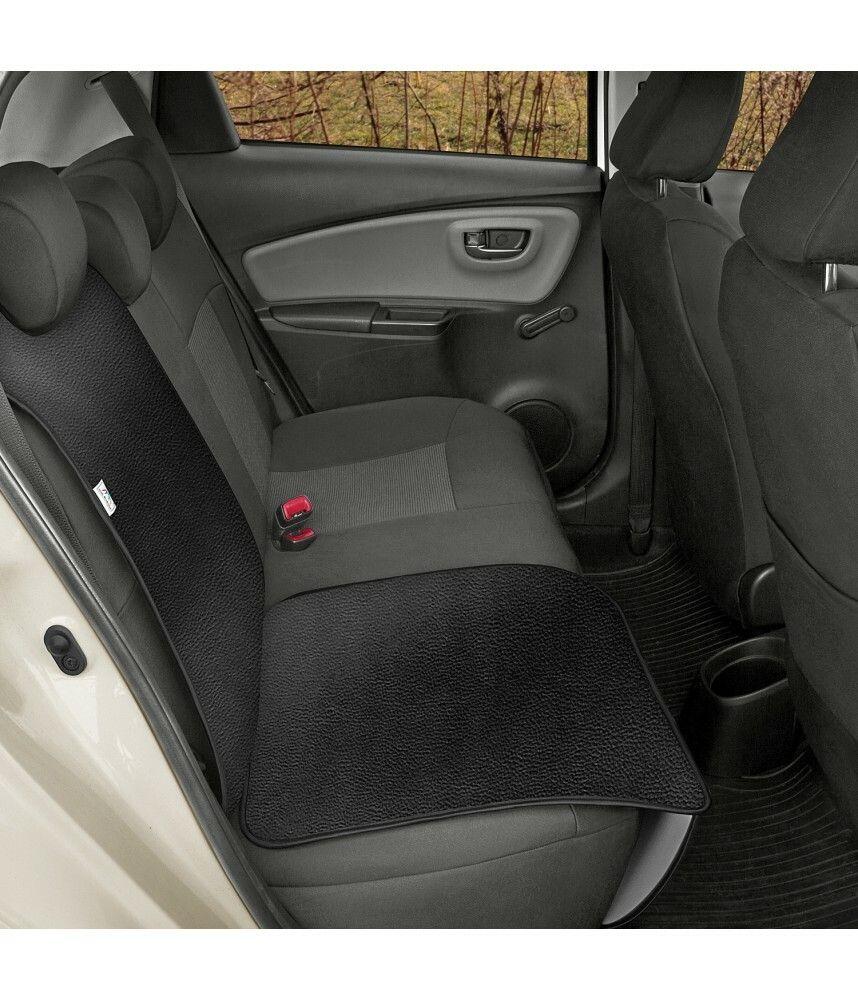 Ochranná podložka pod autosedačku pro přepravu dětí JUNIOR Artificial Leather černá SIXTOL