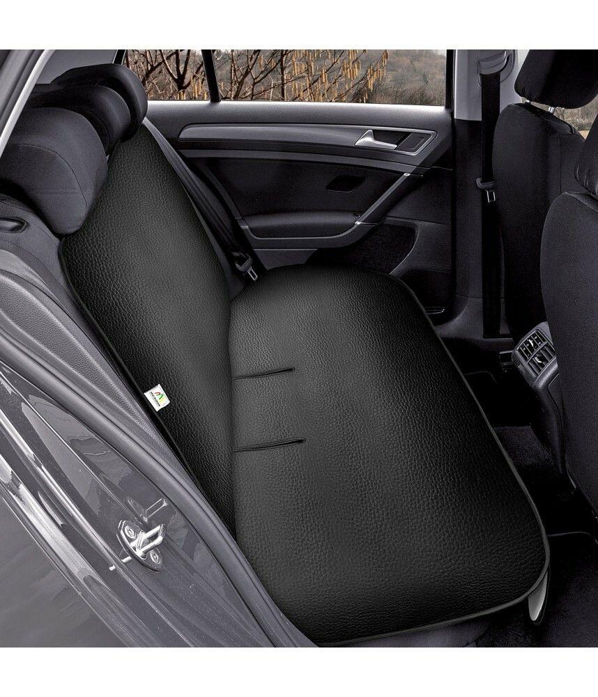Ochranná podložka na zadní sedadlo JUNIOR DUO Artificial Leather černá SIXTOL