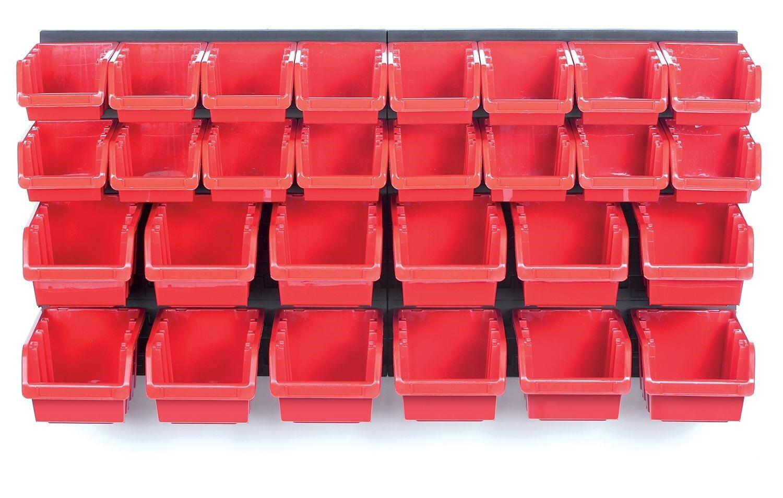 Závěsný panel s 28 boxy na nářadí ORDERLINE 800x165x400 KISTENBERG