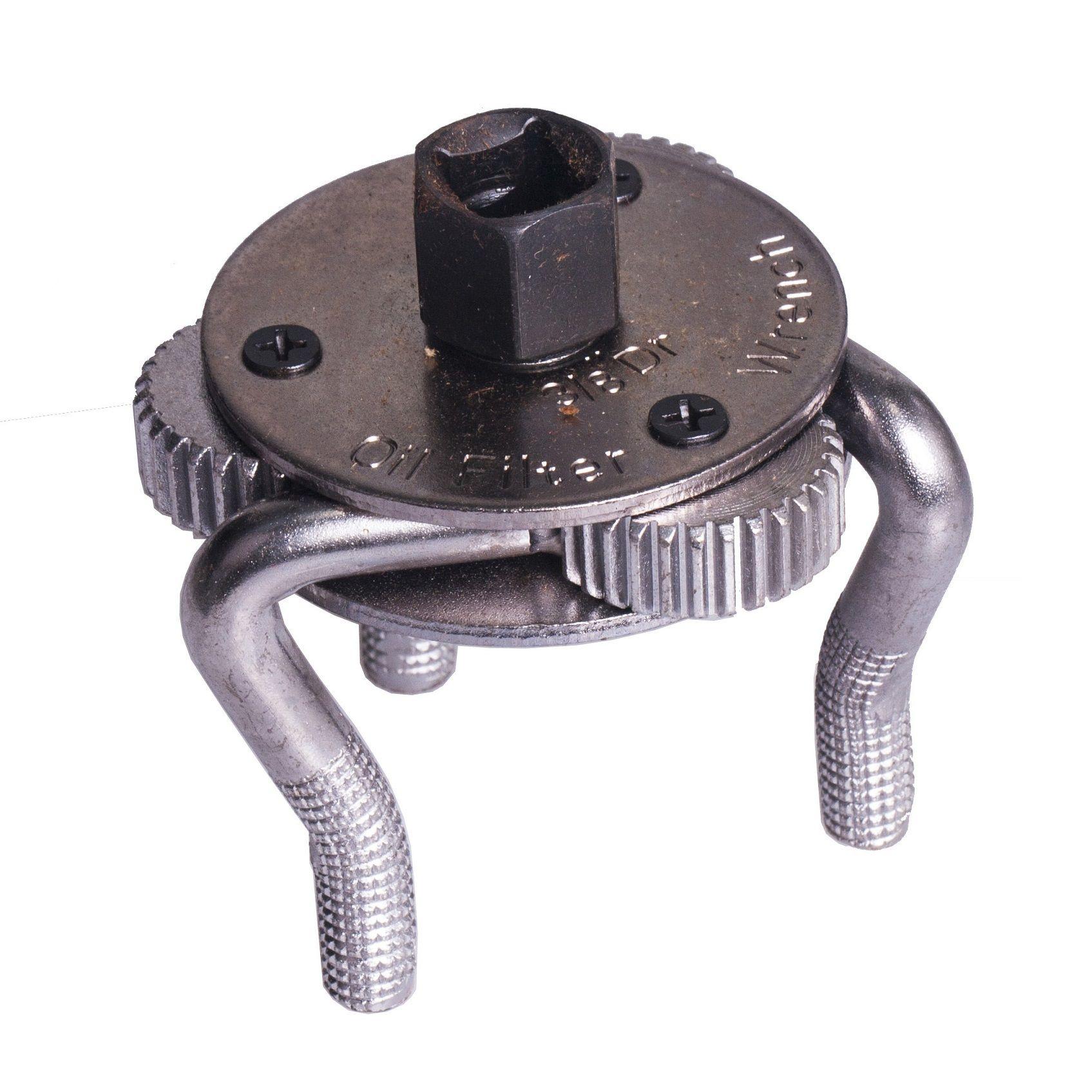 Samostavitelný, tříramenný klíč na olejové filtry 63 - 102 mm QUATROS QS60033