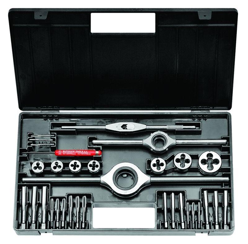 Souprava závitořezných nástrojů, 238914.2, M1-II HSS /340 120/ BUČOVICE TOOLS