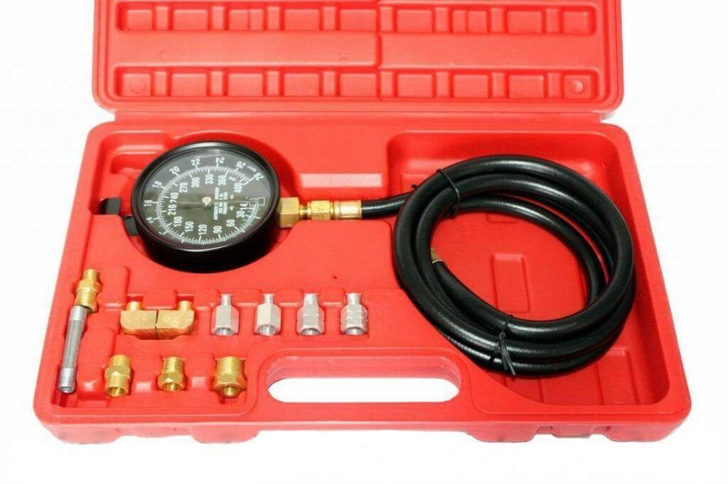 Diagnostická sada 12ks pro měření tlaku oleje MAR-POL