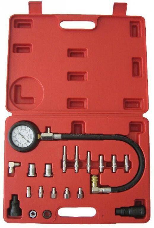 Kompresiometr pro vznětové motory, sada 20ks, tester komprese