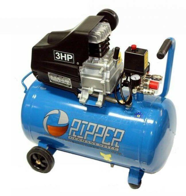 Kompresor olejový jednopístový 24l 2,2kW 230V RIPPER