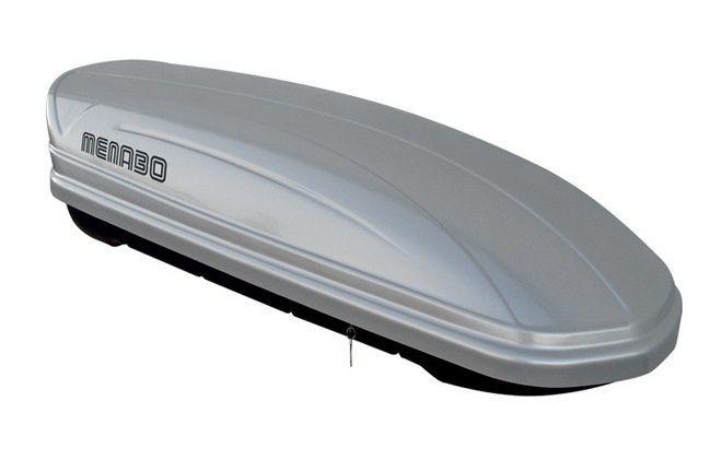 Střešní box Mania 320 stříbrný, MENABO