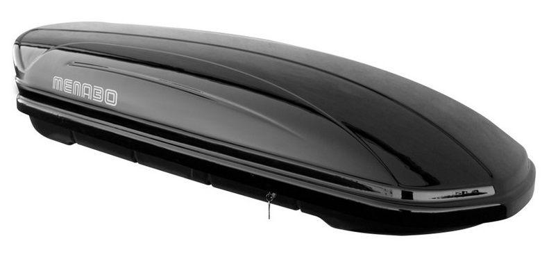 Střešní box Mania 400 ABS černý, MENABO