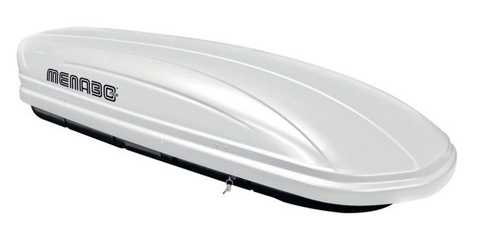Střešní box Mania 460 ABS bílý, MENABO
