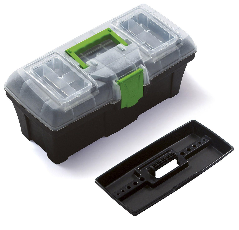 """Plastový box na nářadí 15"""", nosnost 8,5 kg, GREEN BOX SIXTOL"""