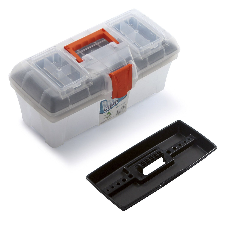 """Plastový box na nářadí 15"""", nosnost 8,5 kg, ICE CUBE SIXTOL"""