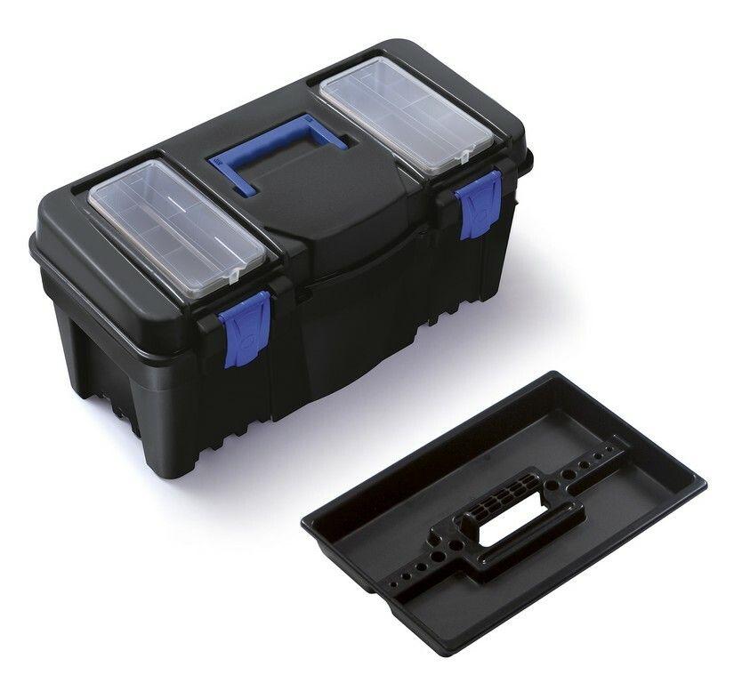 """Plastový box na nářadí 22"""", nosnost 19 kg, CALIBER Prosperplast"""