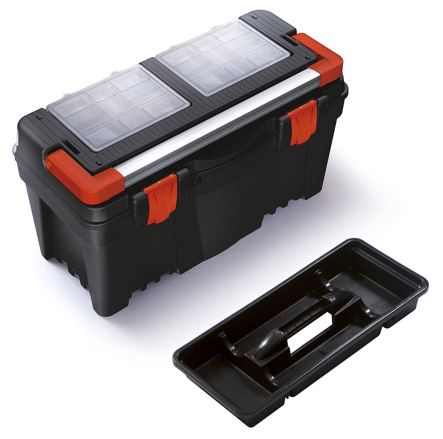 """Plastový box na nářadí 23,5"""", nosnost 25 kg, MUSTANG Prosperplast"""