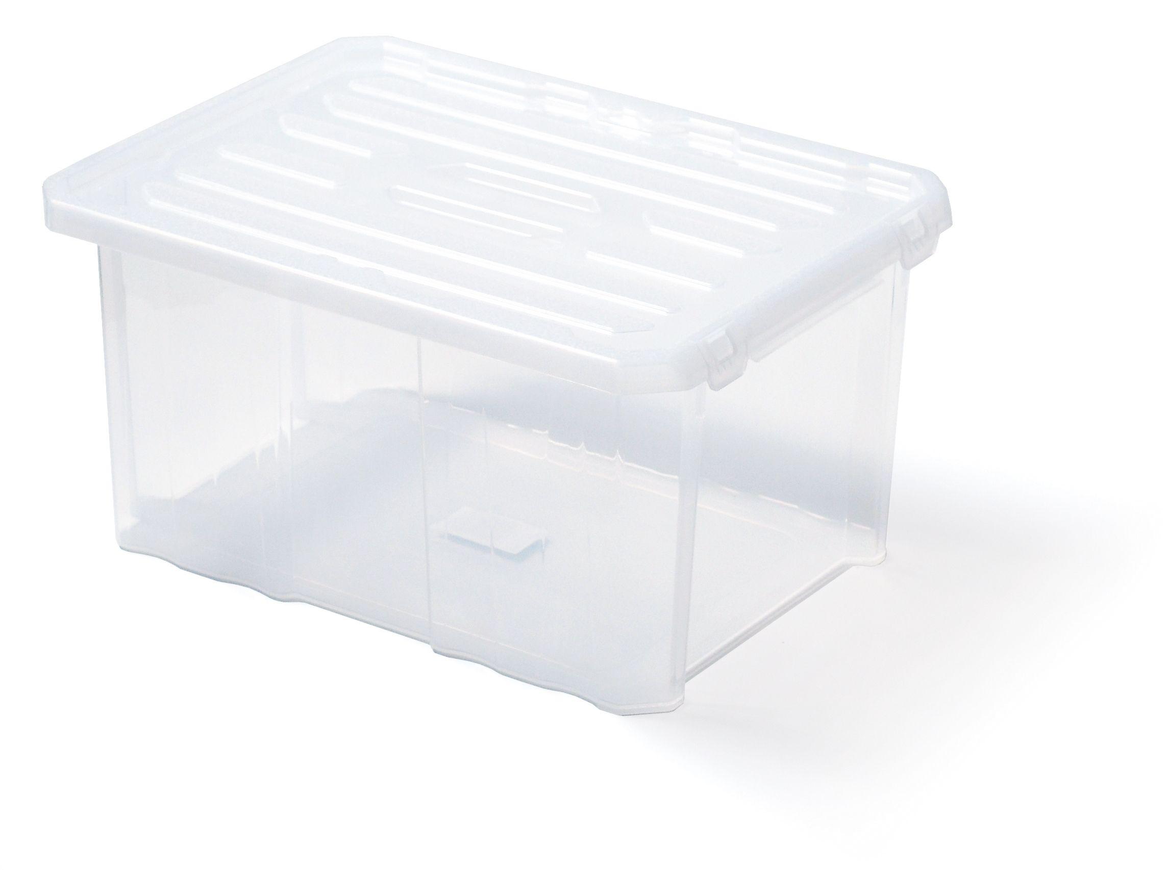 "Plastový úložný box 16"", nosnost 16 kg, CARGOBOX, bez víka SIXTOL"