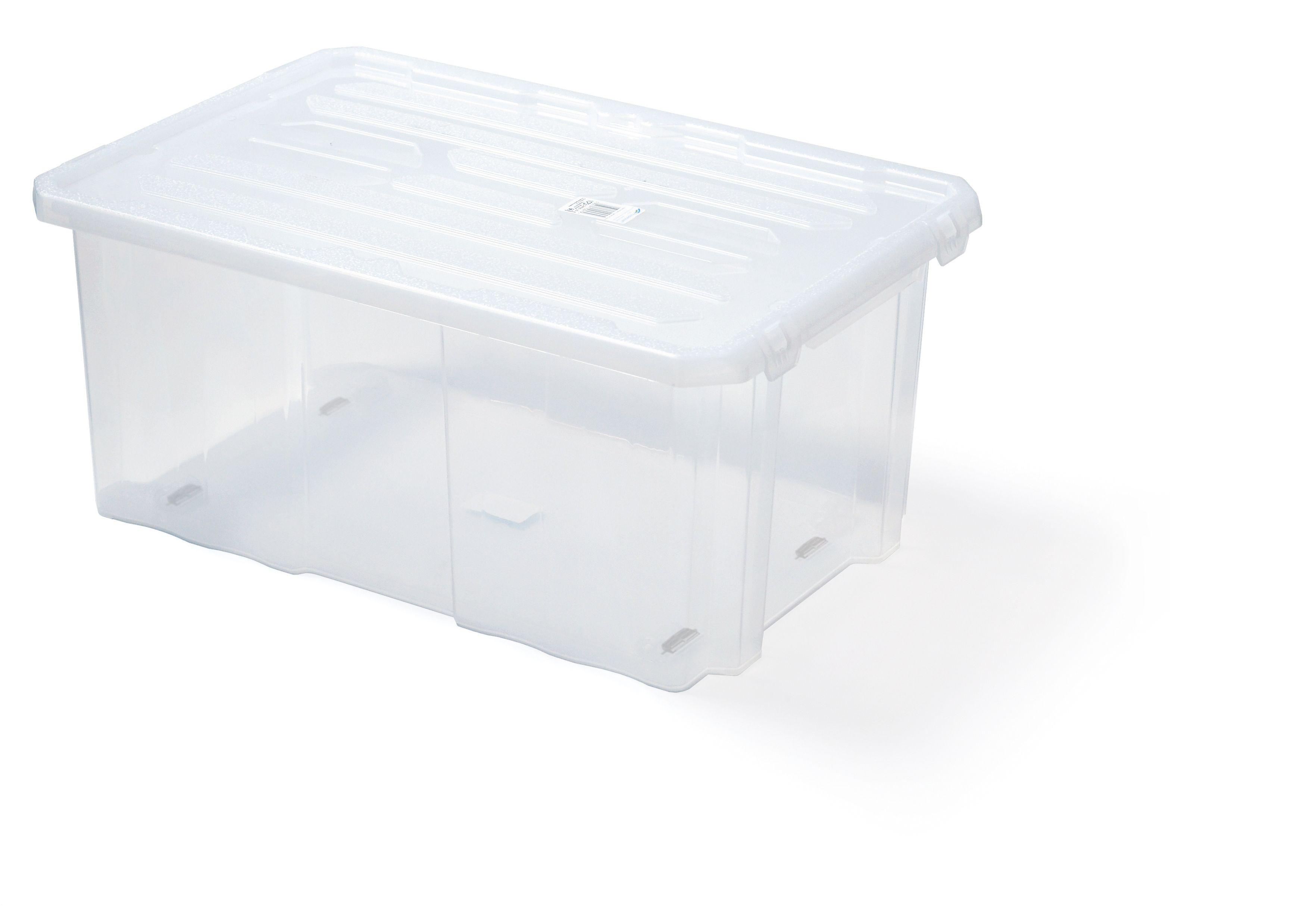"Plastový úložný box 24"", nosnost 45 kg, CARGOBOX, bez víka SIXTOL"