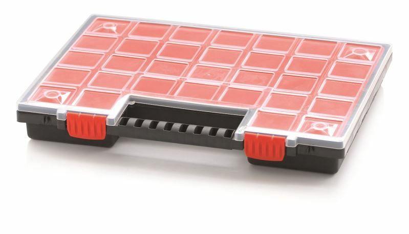 Plastový organizér 32 přihrádek NORP 399x303x50 PROSPERPLAST